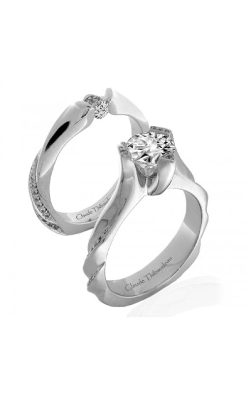 Claude Thibaudeau Simplicite Engagement ring PLT-10033-MP product image