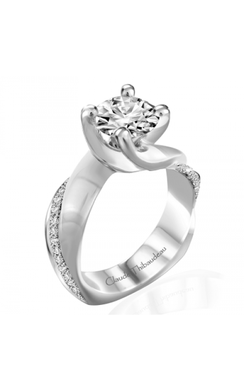 Claude Thibaudeau Simplicite Engagement ring PLT-10031-MP product image