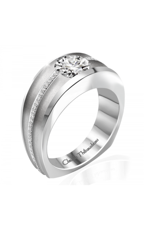 Claude Thibaudeau Simplicite Engagement Ring PLT-10041-MP product image
