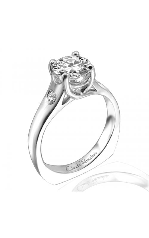 Claude Thibaudeau Simplicite Engagement ring PLT-1571 product image