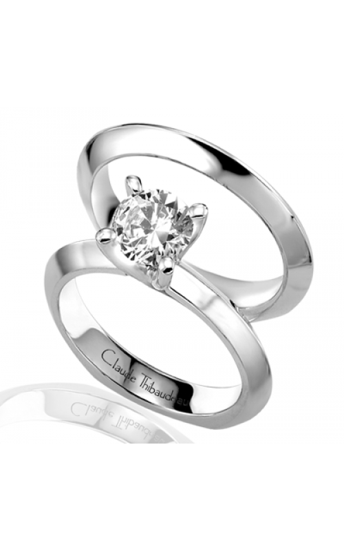Claude Thibaudeau Simplicite Engagement ring PLT-1473 product image