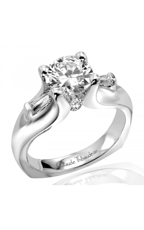 Claude Thibaudeau Simplicite Engagement ring PLT-1622 product image