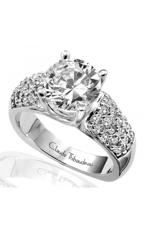 Claude Thibaudeau Simplicite Engagement ring PLT-1563 product image