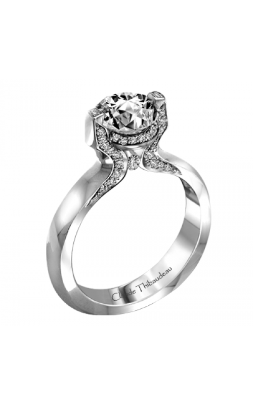 Claude Thibaudeau Simplicite Engagement ring PLT-1991-MP product image