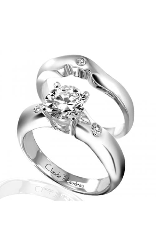 Claude Thibaudeau Simplicite Engagement ring PLT-1313 product image