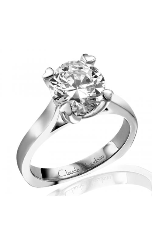 Claude Thibaudeau Simplicite Engagement ring PLT-1552 product image