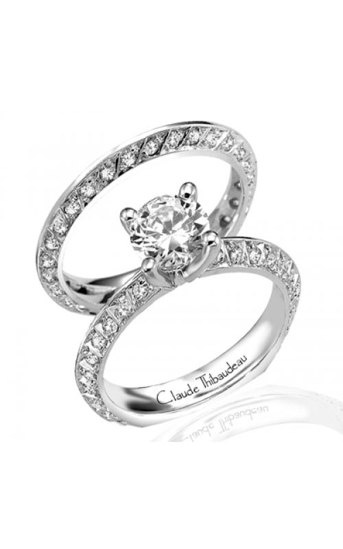 Claude Thibaudeau Simplicite Engagement Ring PLT-1536 product image