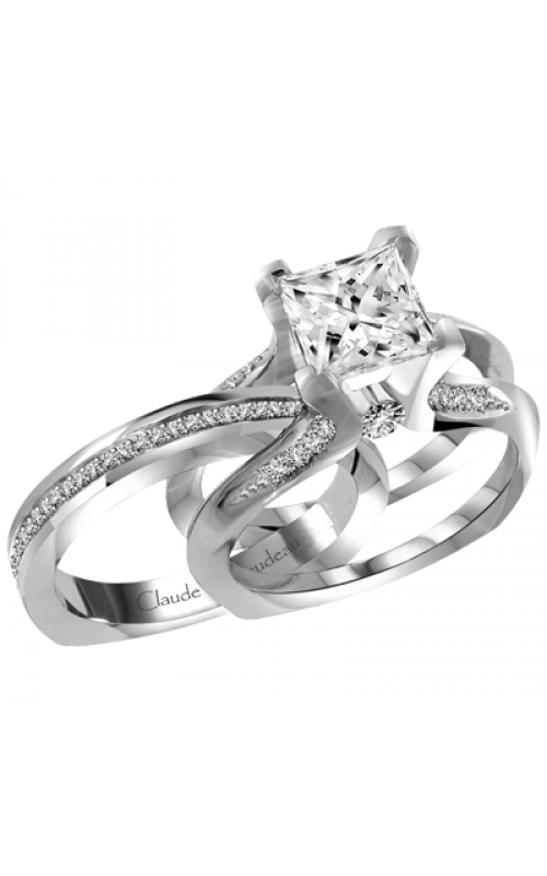 Claude Thibaudeau Interchangeables Engagement ring PLT-1946R-MP product image