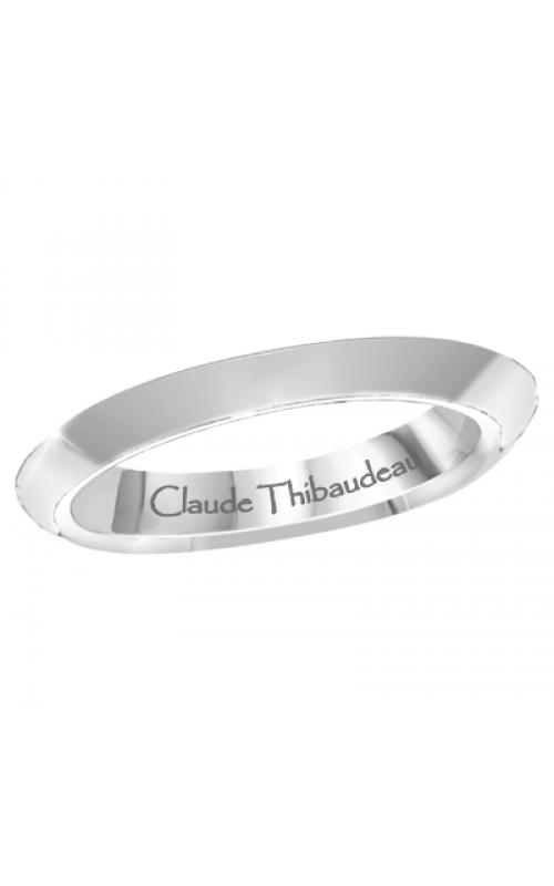 Claude Thibaudeau Designer Anniversary Women's Wedding Band PLT-1907-J product image