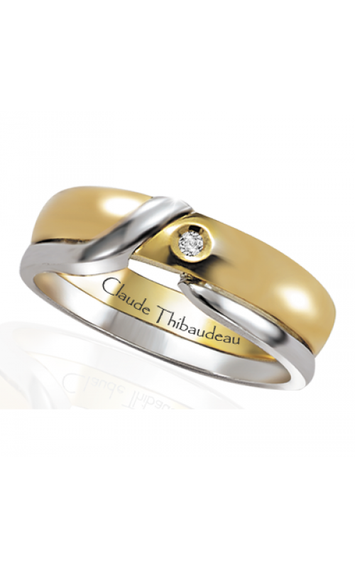 Claude Thibaudeau The Inseparables Wedding band IF-123-H product image