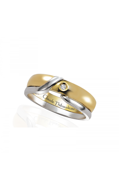 Claude Thibaudeau The Inseparables Wedding band IF-123-F product image