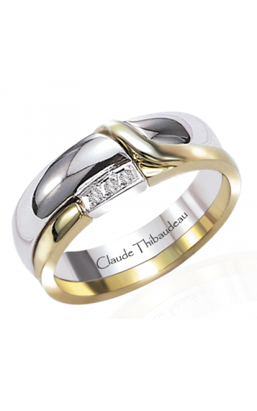 Claude Thibaudeau The Inseparables Wedding band IF-124-H product image