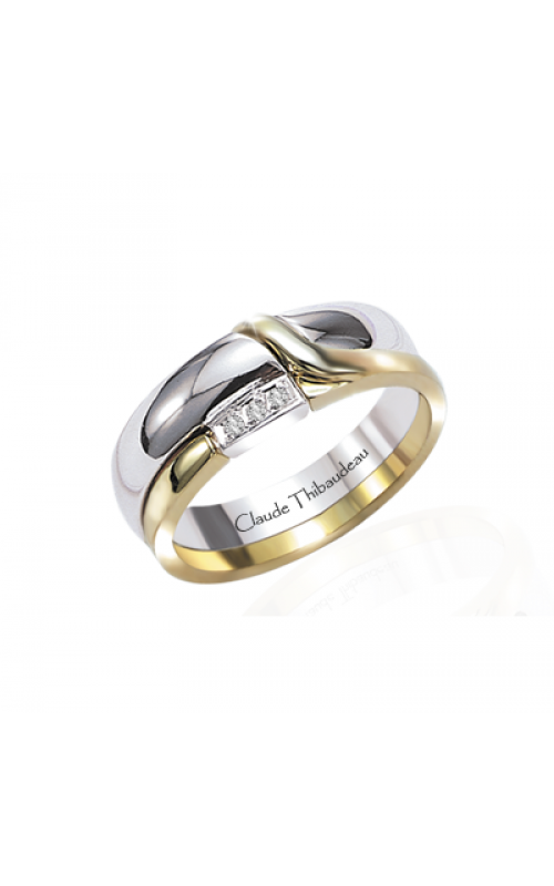 Claude Thibaudeau The Inseparables Women's Wedding Band IF-124-F product image