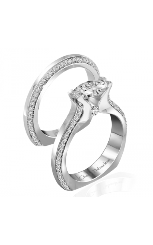 Claude Thibaudeau Just Released Engagement ring PLT-10013-MP product image
