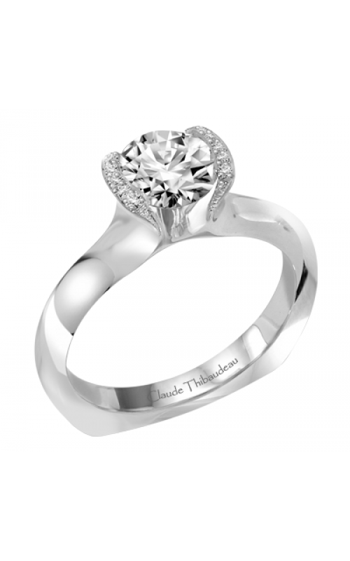 Claude Thibaudeau Petite Designs Engagement ring PLT-1903-MP product image