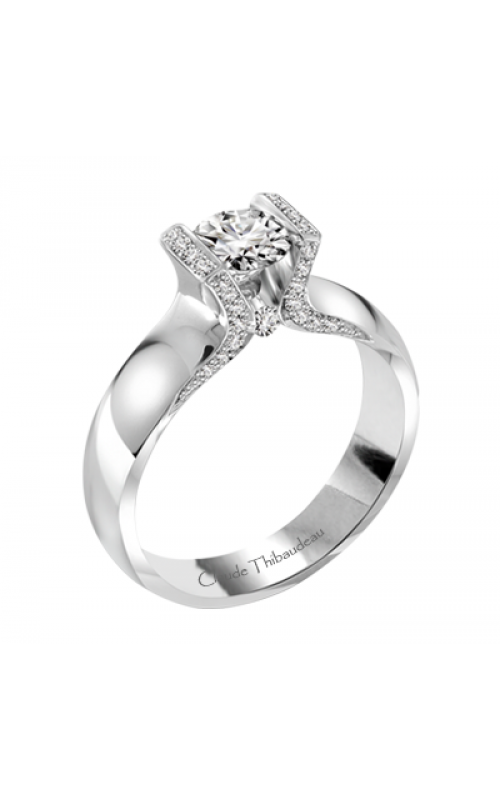 Claude Thibaudeau Petite Designs Engagement Ring PLT-1897-MP product image