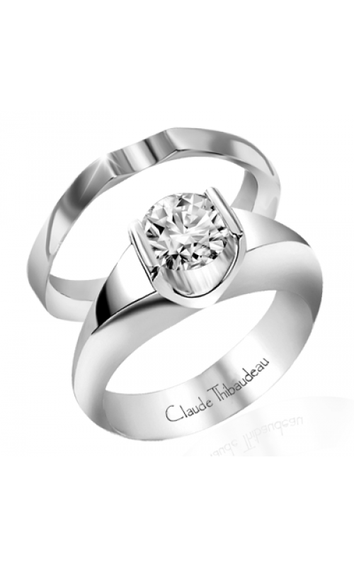 Claude Thibaudeau Petite Designs Engagement ring PLT-1497 product image