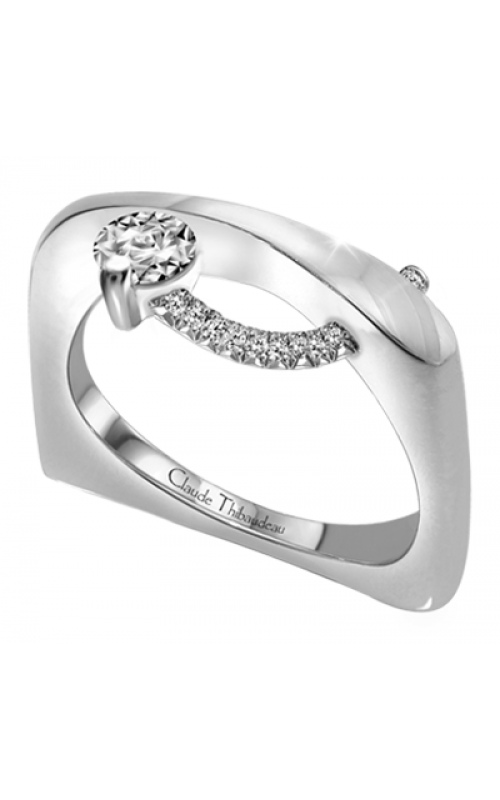 Claude Thibaudeau Petite Designs Engagement Ring PLT-1885-MP product image