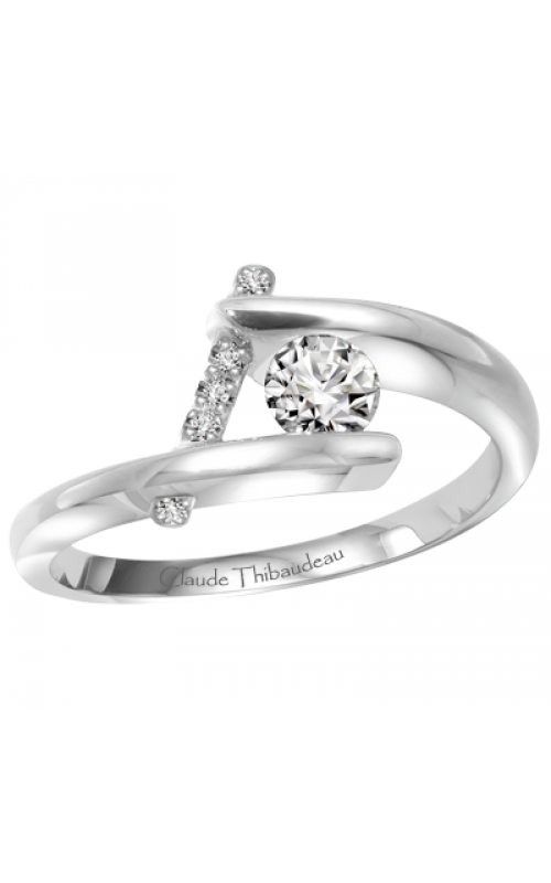 Claude Thibaudeau Petite Designs Engagement Ring PLT-1887-MP product image