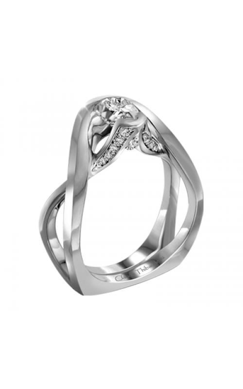Claude Thibaudeau Petite Designs Engagement Ring PLT-10001-MP product image
