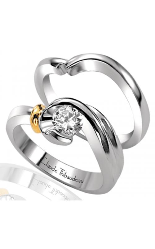 Claude Thibaudeau Petite Designs Engagement Ring PLT-1238 product image