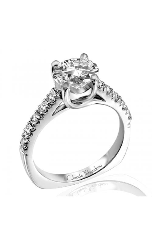 Claude Thibaudeau Petite Designs Engagement ring PLT-1729 product image
