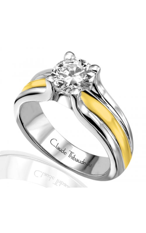Claude Thibaudeau Petite Designs Engagement ring PLT-1489 product image