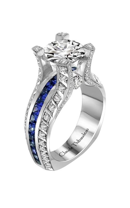 Claude Thibaudeau La Royale Engagement ring MODPLT-10053-MPR product image