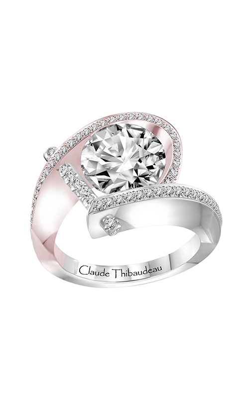 Claude Thibaudeau Just Released Engagement ring PLT-1831RW-MP product image