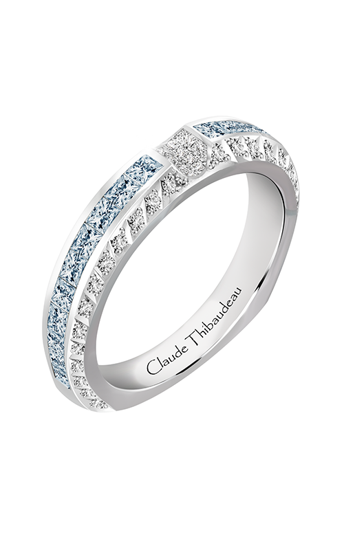 Claude Thibaudeau Just Released Wedding Band PLT-10047-JC-BDT product image