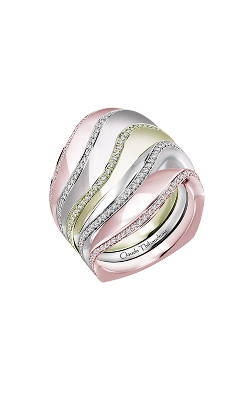 Claude Thibaudeau Avant-Garde Engagement Ring PLT-10185RVR-MP product image