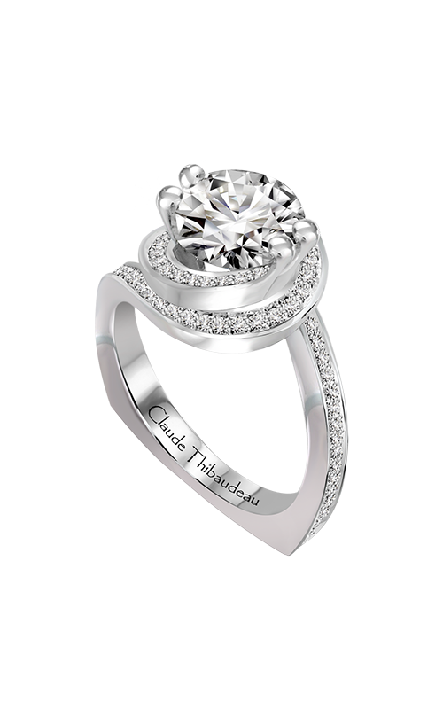 Claude Thibaudeau Just Released Engagement ring PLT-10198-MP product image