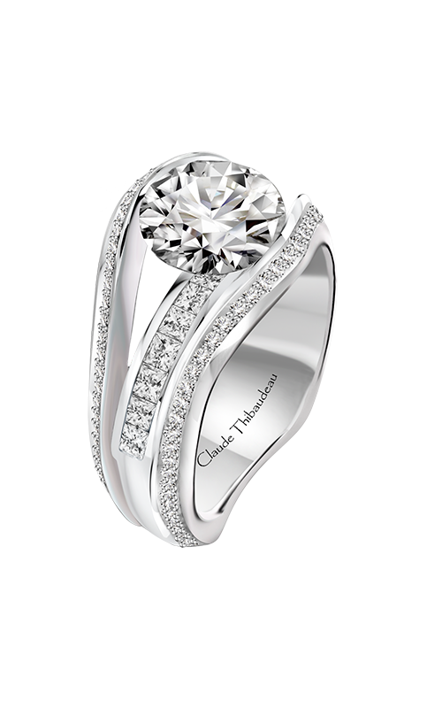 Claude Thibaudeau Just Released Engagement ring PLT-10203-MP product image