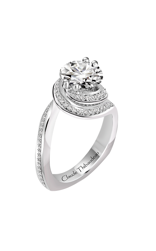Claude Thibaudeau Just Released Engagement ring PLT-10206-MP product image