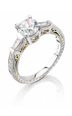 Coast Diamond Hand Engraved Engagement Ring LP2287 product image