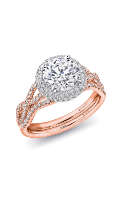Coast Diamond Rose Gold Engagement Ring LC5438RG WC5438RG product image