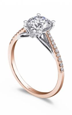Coast Diamond Rose Gold Engagement ring LC5394RG product image