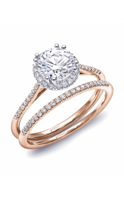 Coast Diamond Rose Gold Engagement Ring LC5403RG product image