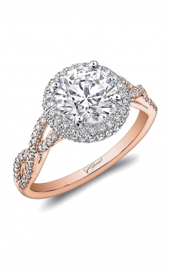 Coast Diamond Rose Gold Engagement Ring LC5438RG product image