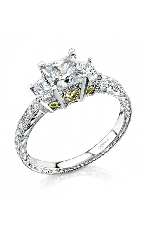 Coast Diamond Hand Engraved Engagement ring LP2303 product image