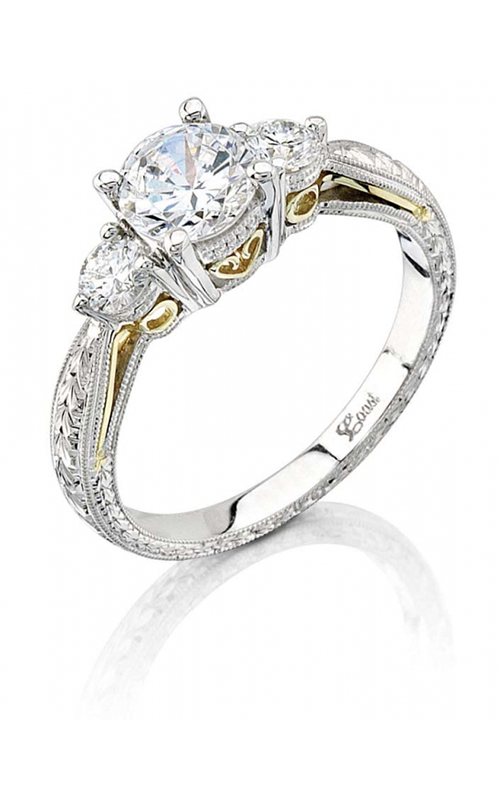 Coast Diamond Hand Engraved Engagement ring LP2290 product image