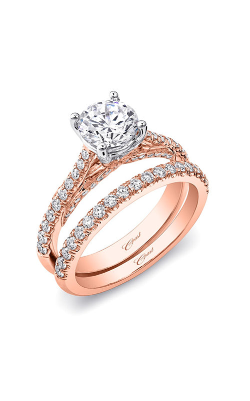 Coast Diamond Rose Gold Engagement ring LC5447RG WC5447RG product image