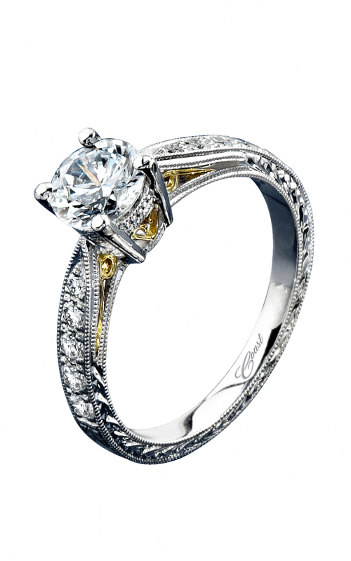 Coast Diamond Hand Engraved Engagement ring LP2229 product image