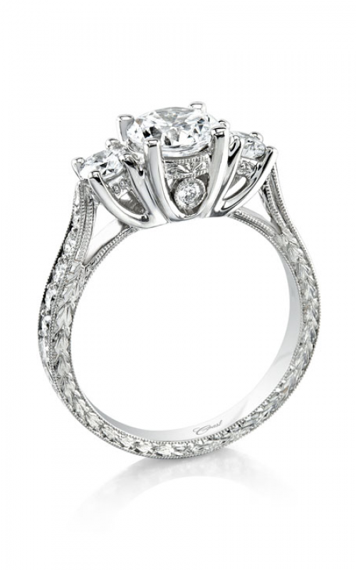 Coast Diamond Hand Engraved Engagement ring LP2345 product image