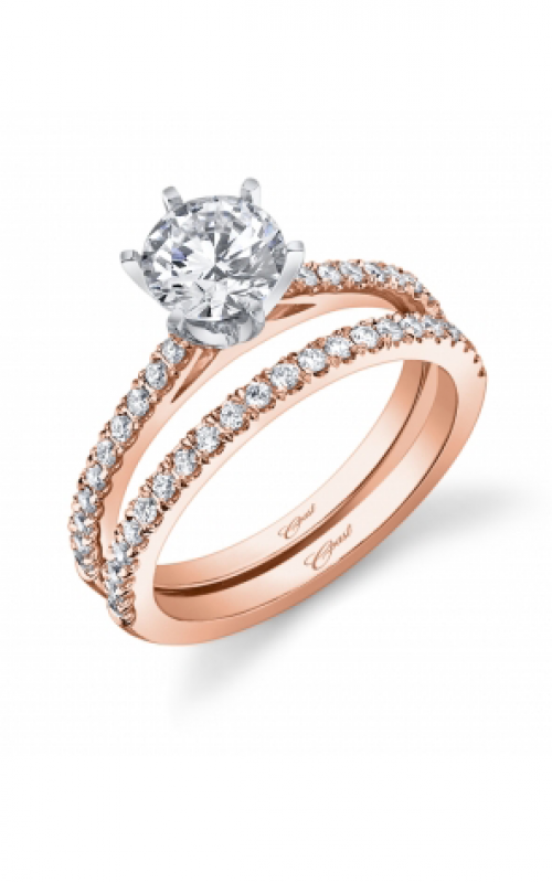 Coast Diamond Rose Gold Engagement ring LC5250RG product image