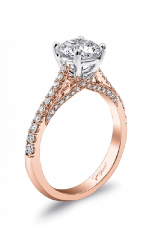 Coast Diamond Rose Gold Engagement ring LC5447RG product image
