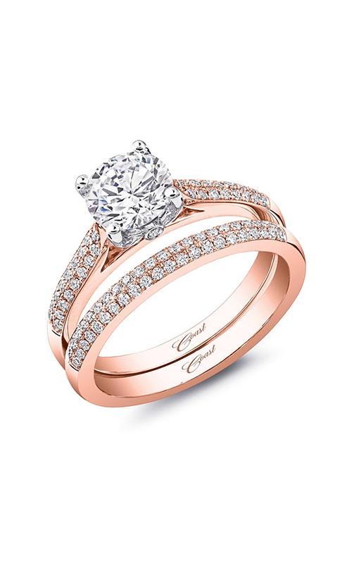 Coast Diamond Rose Gold Engagement ring LC5446RG product image
