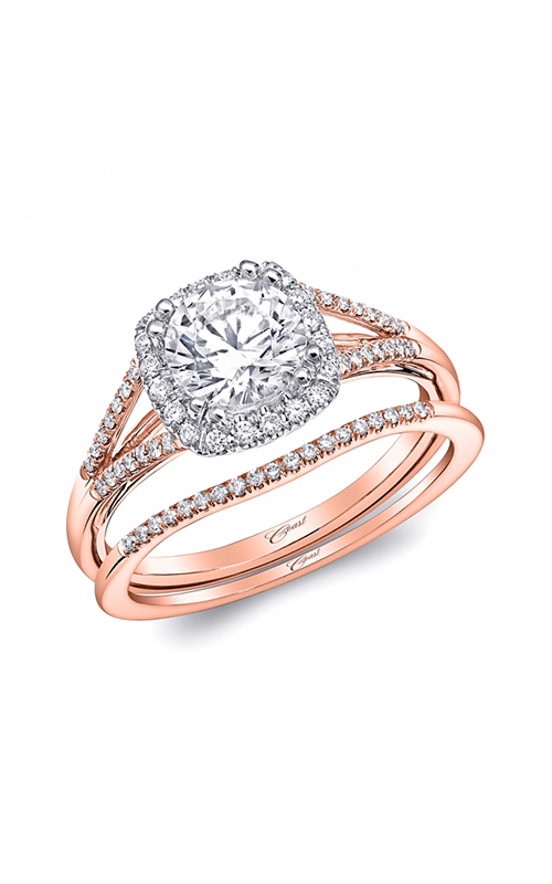 Coast Diamond Rose Gold Engagement ring LC5392RG WC5392RG product image