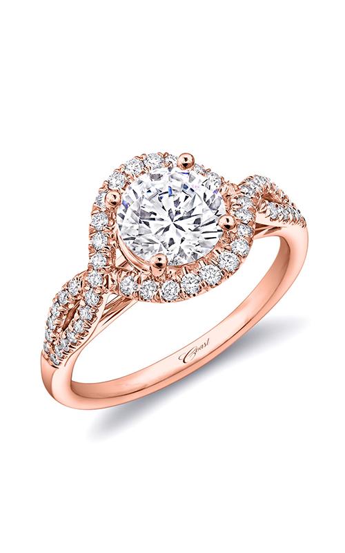 Coast Diamond Rose Gold Engagement ring LC5449RG product image