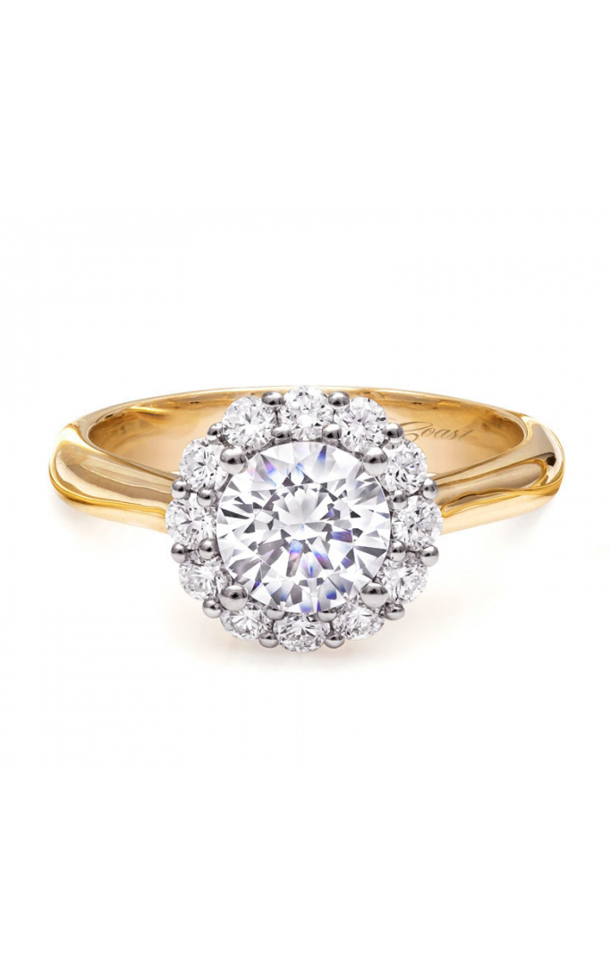 Coast Diamond Romance engagement ring LC5205-100YG product image
